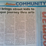"""JCI brings street kids to unique journey thru arts."" The Freeman. Vol. 43, No. 135. Cebu City. 30 November 2008: Community, 23."