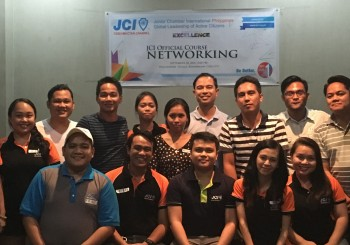 JCI Cebu-Mactan Channel hosts the JCI Official Course: Networking