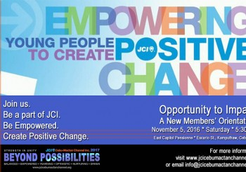 Beyond Possibilities: The 1st Opportunity to Impact New Members' Orientation